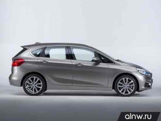 Каталог запасных частей BMW 2 series Active Tour series