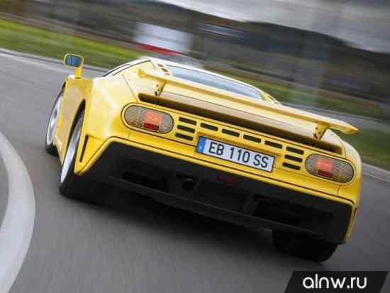 Инструкция по эксплуатации Bugatti EB 110