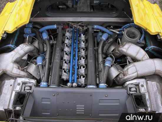 Каталог запасных частей Bugatti EB 110