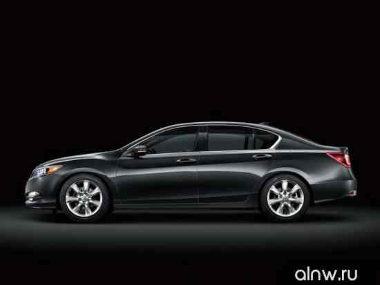 Каталог запасных частей Acura RLX