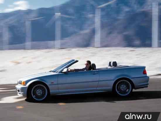 Каталог запасных частей BMW 3 series IV (E46) Кабриолет