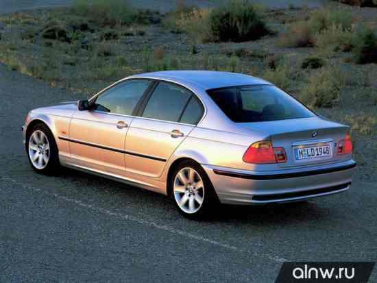 Каталог запасных частей BMW 3 series IV (E46) Седан