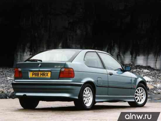 Программа диагностики BMW 3 series III (E36) Хэтчбек 3 дв.