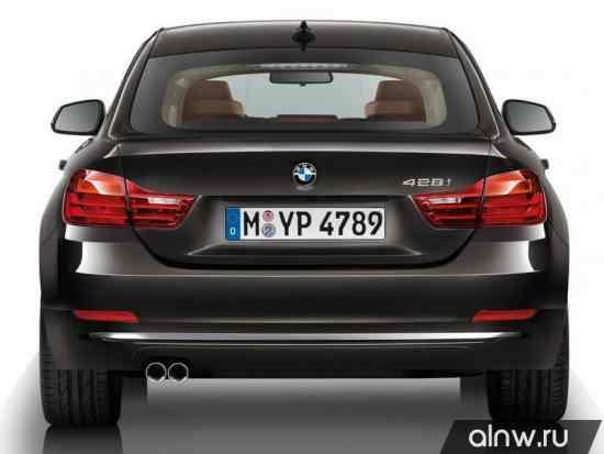 Каталог запасных частей BMW 4 series Лифтбек