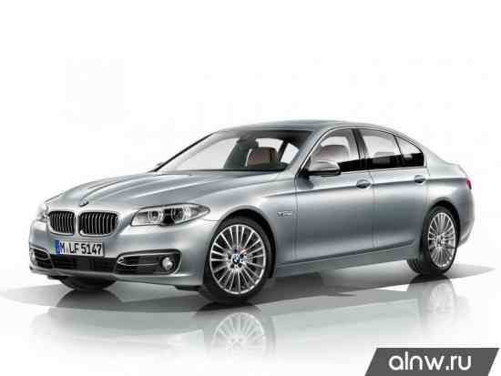 BMW 5 series VI (F1x) Рестайлинг Седан