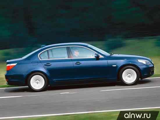Каталог запасных частей BMW 5 series V (E6x) Седан