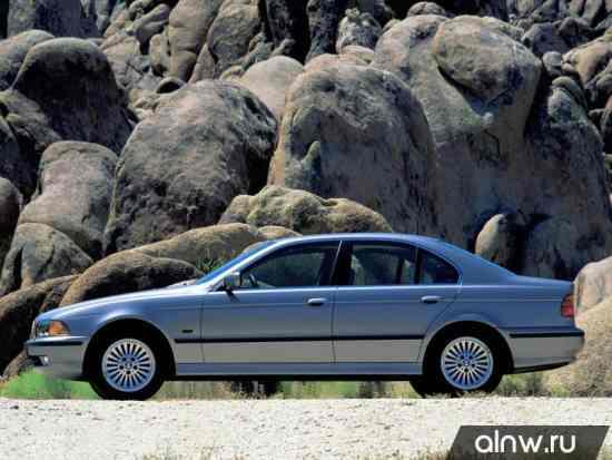 Каталог запасных частей BMW 5 series IV (E39) Седан