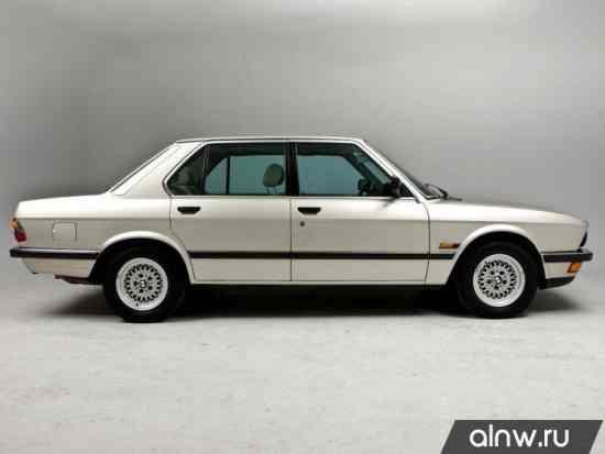 Каталог запасных частей BMW 5 series II (E28) Седан