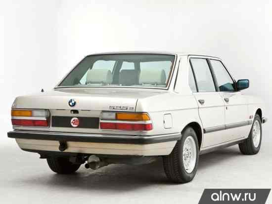 Программа диагностики BMW 5 series II (E28) Седан