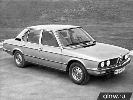 BMW 5 series I (E12) Седан