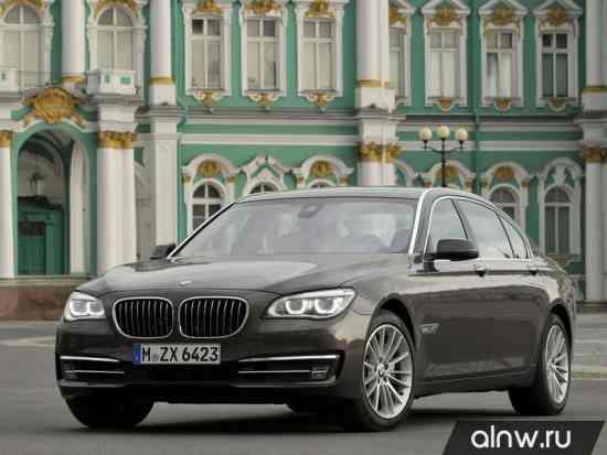BMW 7 series V (F01/F02/F04) Рестайлинг Седан