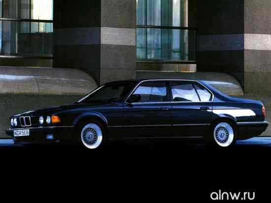 Инструкция по эксплуатации BMW 7 series II (E32) Седан