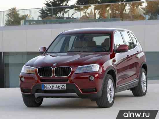 Руководство по ремонту BMW X3 II (F25) Внедорожник 5 дв.