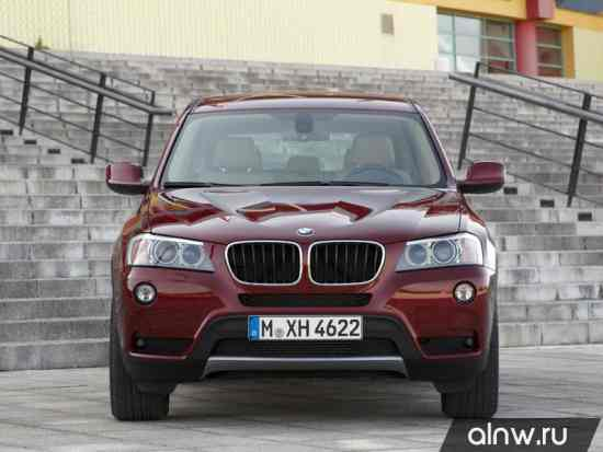 Инструкция по эксплуатации BMW X3 II (F25) Внедорожник 5 дв.