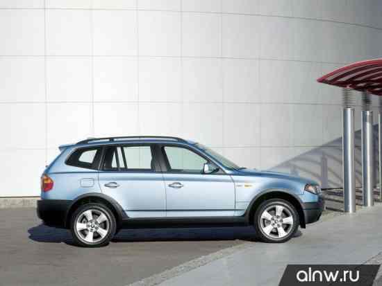 Каталог запасных частей BMW X3 I (E83) Внедорожник 5 дв.