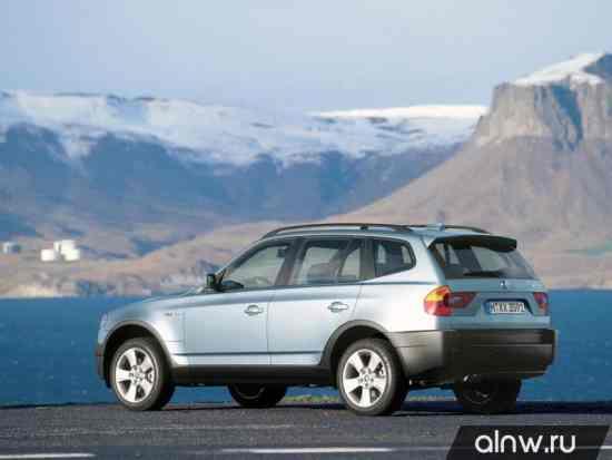 Программа диагностики BMW X3 I (E83) Внедорожник 5 дв.