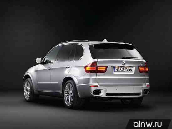 Программа диагностики BMW X5 II (E70) Внедорожник 5 дв.