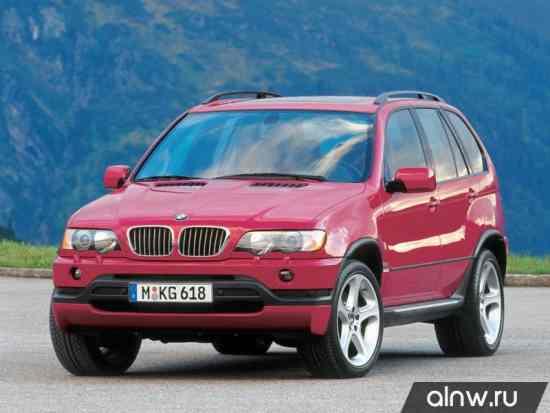 BMW X5 I (E53) Внедорожник 5 дв.