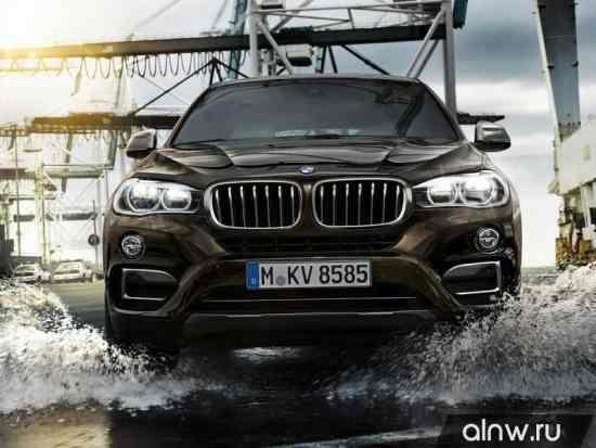 Каталог запасных частей BMW X6 II (F16) Внедорожник 5 дв.