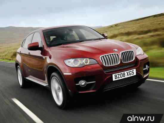 Руководство по ремонту BMW X6 I (E71) Внедорожник 5 дв.