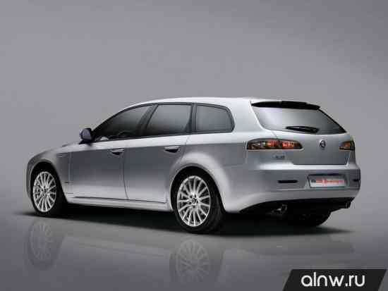 Каталог запасных частей Alfa Romeo 159  Универсал 5 дв.