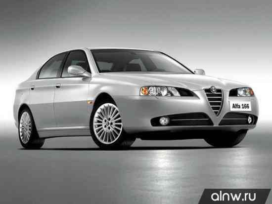 Alfa Romeo 166 I Рестайлинг Седан