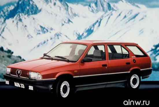 Руководство по ремонту Alfa Romeo 33 II Универсал 5 дв.