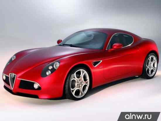 Руководство по ремонту Alfa Romeo 8C Competizione  Купе