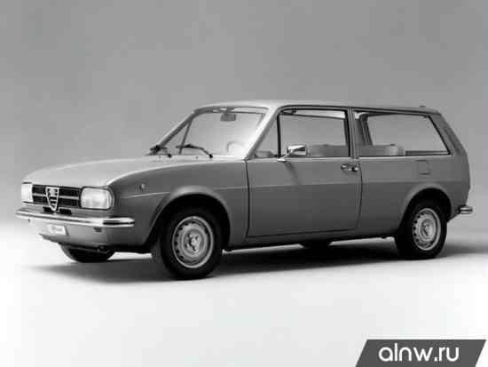 Руководство по ремонту Alfa Romeo Alfasud  Универсал 3 дв.