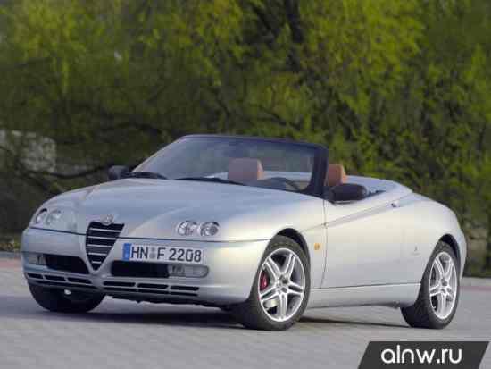Каталог запасных частей Alfa Romeo Spider II Кабриолет