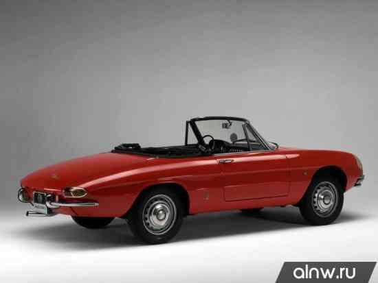 Каталог запасных частей Alfa Romeo Spider I Кабриолет