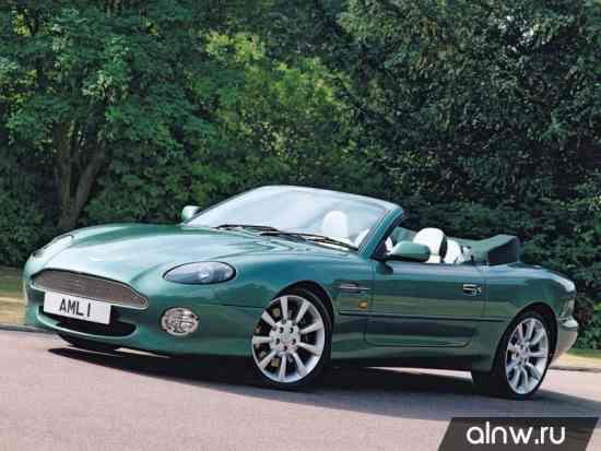 Руководство по ремонту Aston Martin DB7  Кабриолет