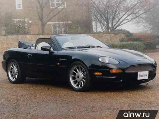 Каталог запасных частей Aston Martin DB7  Кабриолет