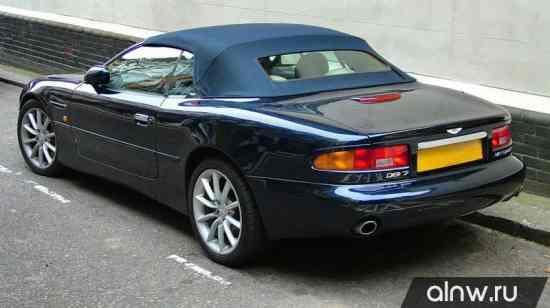 Программа диагностики Aston Martin DB7  Кабриолет