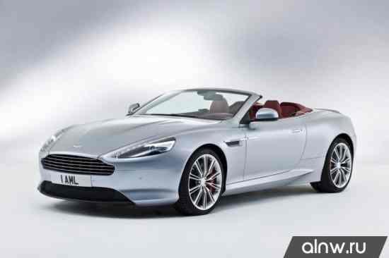 Руководство по ремонту Aston Martin DB9 I Рестайлинг Кабриолет