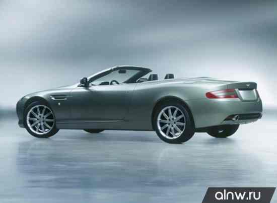 Каталог запасных частей Aston Martin DB9 I Кабриолет