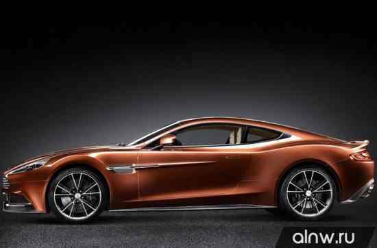 Каталог запасных частей Aston Martin V12 Vanquish II Купе