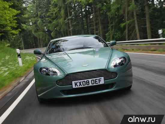 Инструкция по эксплуатации Aston Martin V8 Vantage III Рестайлинг Купе