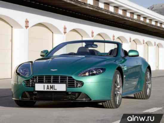 Руководство по ремонту Aston Martin V8 Vantage III Рестайлинг Родстер