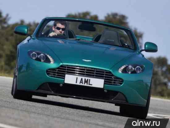 Инструкция по эксплуатации Aston Martin V8 Vantage III Рестайлинг Родстер