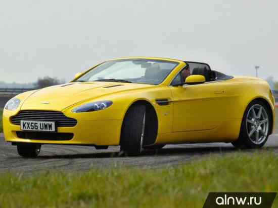 Руководство по ремонту Aston Martin V8 Vantage III Родстер