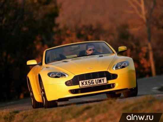 Каталог запасных частей Aston Martin V8 Vantage III Родстер