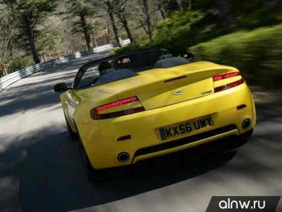 Программа диагностики Aston Martin V8 Vantage III Родстер