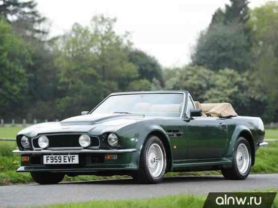 Руководство по ремонту Aston Martin V8 Vantage I Кабриолет
