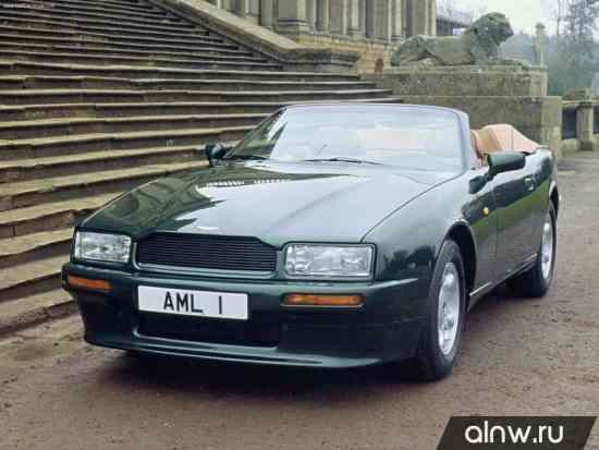 Инструкция по эксплуатации Aston Martin Virage I Кабриолет