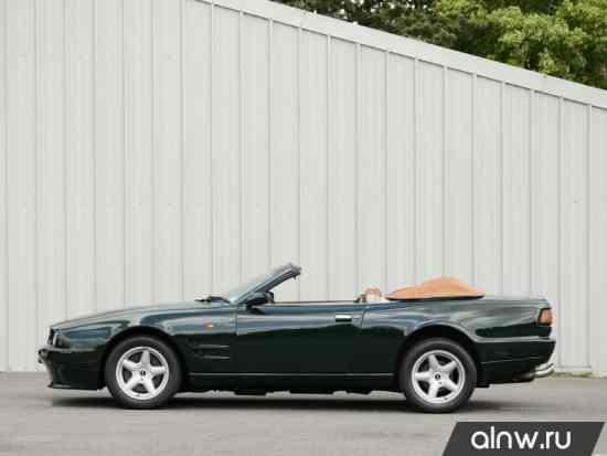 Каталог запасных частей Aston Martin Virage I Кабриолет