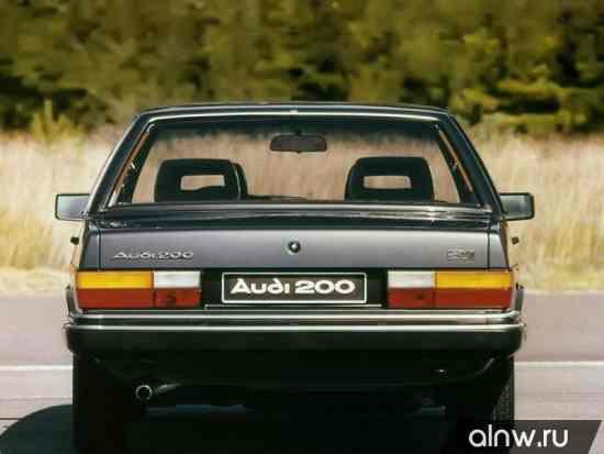 Каталог запасных частей Audi 200 I (C2) Седан