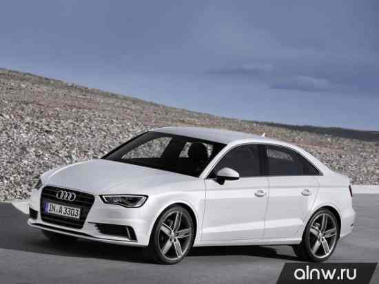 Каталог запасных частей Audi A3 III (8V) Седан