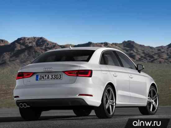 Программа диагностики Audi A3 III (8V) Седан