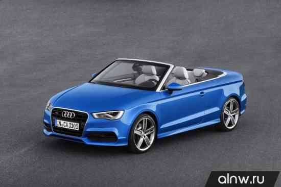 Каталог запасных частей Audi A3 III (8V) Кабриолет